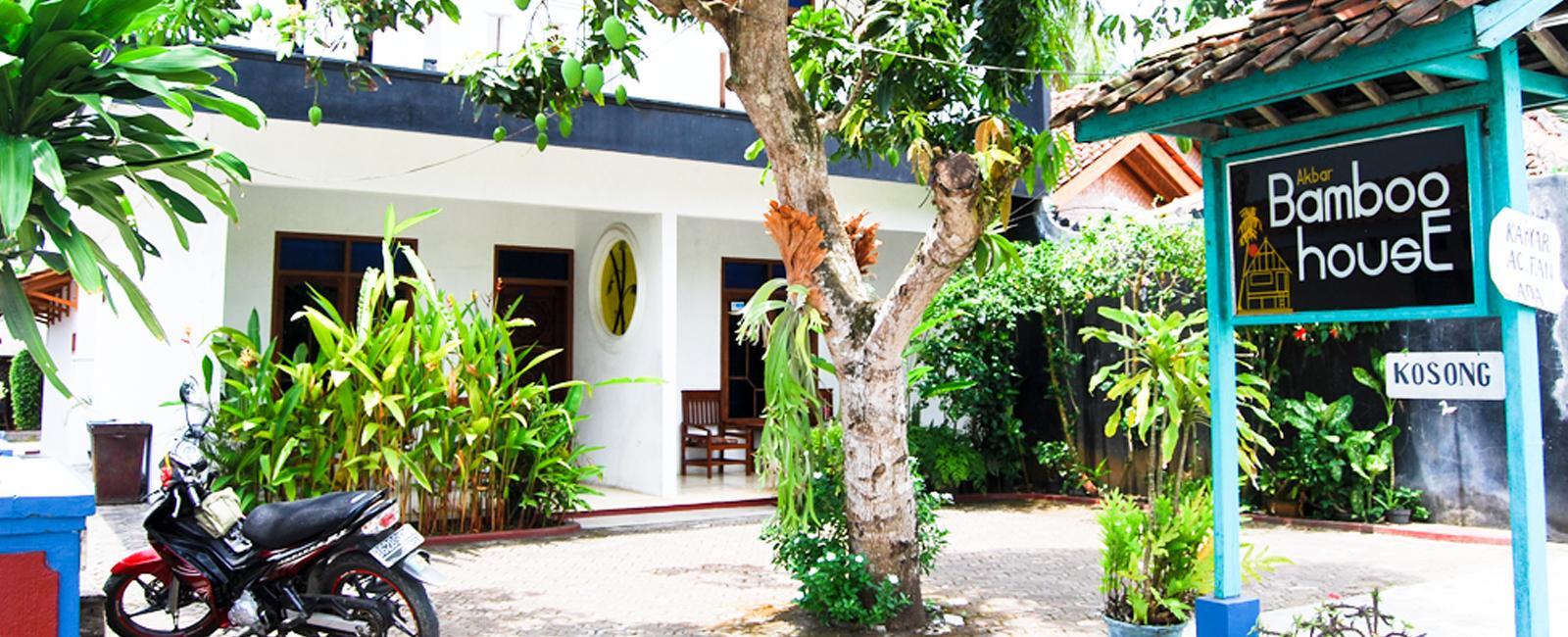 bamboo house pangandaran | hotel di pangandaran